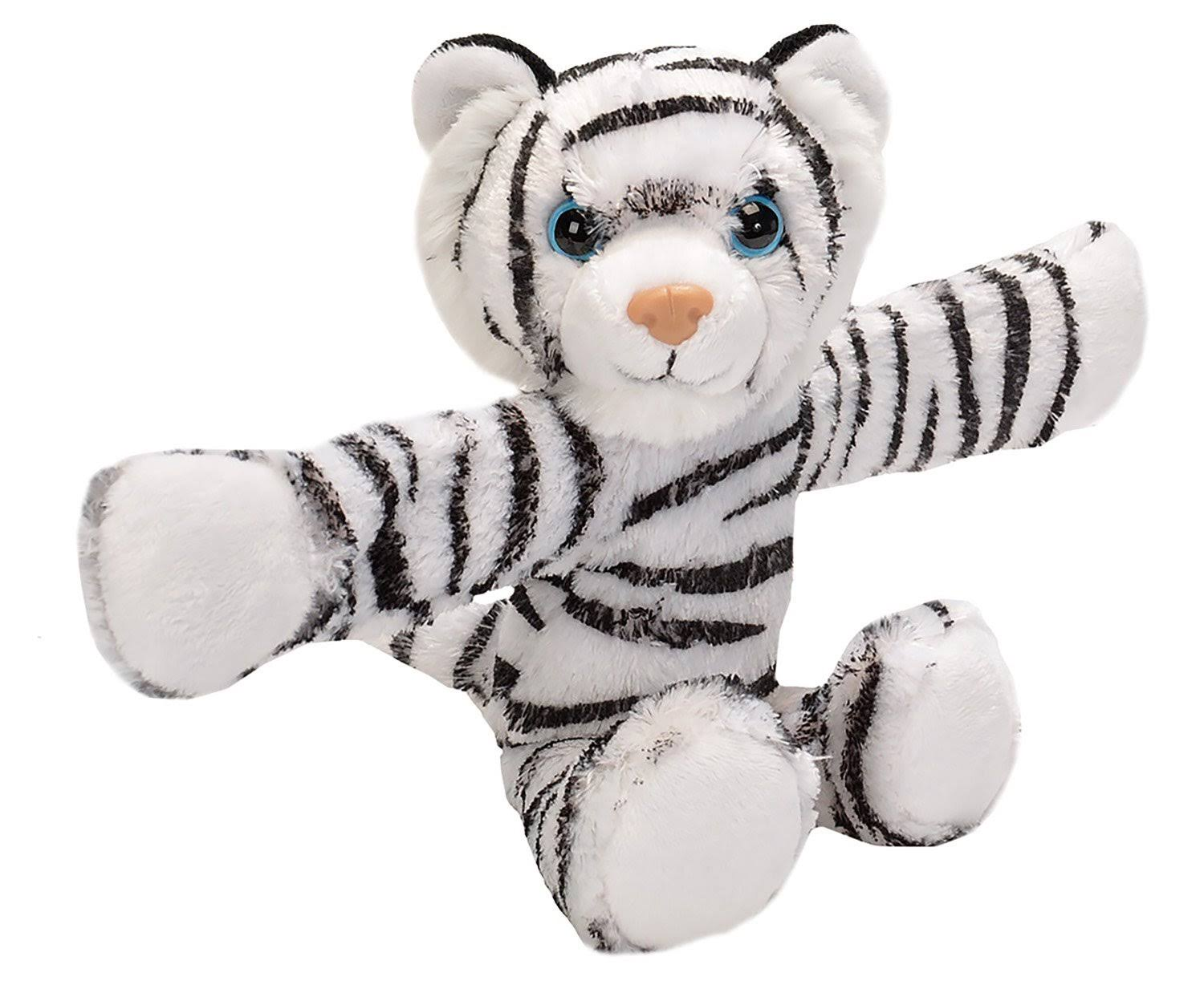 Wild Republic Cuddlekins Huggers Stuffed Animal - White Tiger