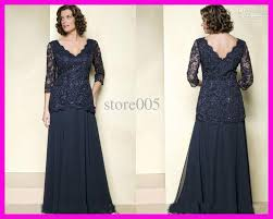 navy blue mother of the bride dresses plus size long sleeves