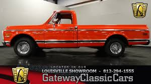 1972 Chevrolet C10 Pickup Truck - Louisville Showroom - Stock #983 ...