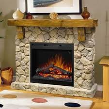 Dimplex SMP 904 ST Fieldstone Pine And Stone Look Electric Fireplace Mantel GDS26L5 904ST
