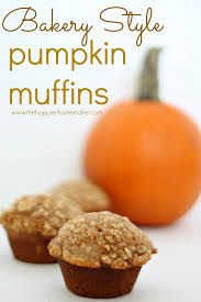 Libby Pumpkin Muffins by Bakery Style Pumpkin Muffins The Happier Homemaker