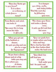 Easy Halloween Scavenger Hunt Clues by Treasure Hunt Clue Cards Page 1 Elfoutfitters Com