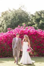 California Garden Wedding Layered With Pink