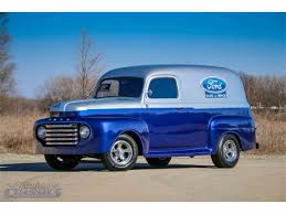 1950 Ford Panel Truck For Sale | ClassicCars.com | CC-1085801 Milk Mans 1956 Ford Panel Van Cool Amazing 1950 Other Van 72018 Check F1 Truck Review Rolling The Og Fseries Motor Trend Jeff Davis Built This Super Pickup In His Home Shop Fordpaneltruck Gallery Chevy Panel Trucks A Gmc Truck And 5 F100 Gateway Classic Cars Chicago 698 Youtube Restored Original Restorable Trucks For Sale 194355 Chevrolet Chevy 1949 1951 1952 49 50 51 52 Panal Air Cditioning Ac Systems Oem Wikipedia 1953 Fr100 Cammer Side Angle 1280x960 Wallpaper