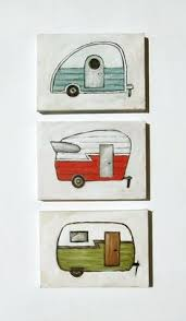 Retro Red Camper 5x7 Print By Heatherfuture On Etsy 1200