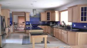 Kitchen Paint Colors With Golden Oak Cabinets by مطابخ زرقاء اللون Blue Kitchens Youtube
