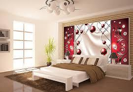 vlies fototapete tapete tapeten rot ornament wanddeko