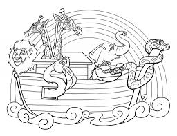 Online Noah And The Ark Coloring Pages 28 In Site With