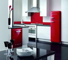 Modern Sleek Kitchen With A Vintage Style Appliances
