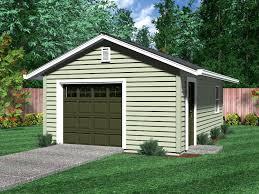Detached Garages Craftsman House Plans With Garage 1 Car G Momchuri