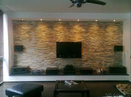 natursteinwand wohnzimmer das design des wohnzimmers mit