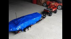 100 Mcatee Truck Sales RC Boat Bike Trailer Combo With Leds YouTube