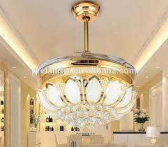 Bladeless Ceiling Fan With Light by 42 Inch Transparent Acrylic Decorative Lighting Led Ceiling Light