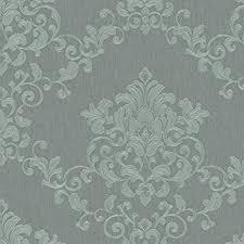 tapete grün ornamental für schlafzimmer oder wohnzimmer made in germany 10 05m x 0 70m 58223