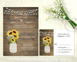 Best Of Rustic Sunflower Wedding Invitations And Like This Item 76 Uk