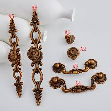6style antique brass dresser pulls handles backplate cabinet knobs