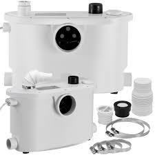kesser hebeanlage kleinhebeanlage fäkalienpumpe mit integriertem rückschlagventil 400 watt wc toiletten dusche badewannen waschbecken