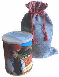schwarzwälder kirschkuchen dose im filzsäckchen