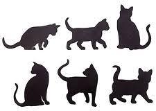cat silhouette cat silhouette ebay