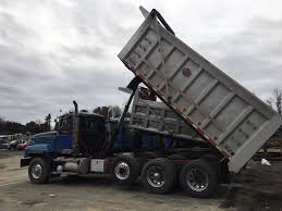 100 Tri Axle Dump Truck For Sale By Owner Mack CL 713 39000 United Exchange USA