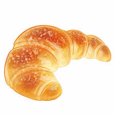 Croissant Bread PNG Image Background