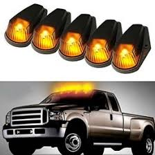 pieces roof cab marker running led lights for truck suv