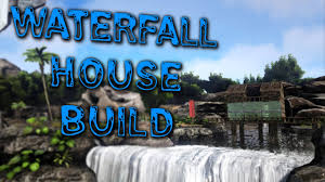 100 Water Fall House Fall Build Guide ARK SURVIVAL EVOLVED PS4