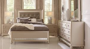 Sofia Vergara Paris Silver 5 Pc King Bedroom King Bedroom Sets