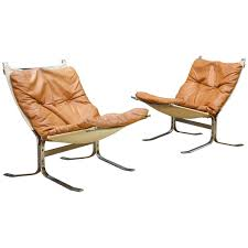 Ingmar Relling Lounge Chair - 1960S Steel Leather Canvas ...