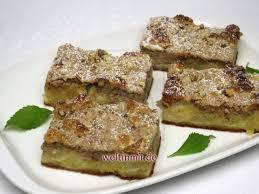 apfelkuchen mit nuss quark