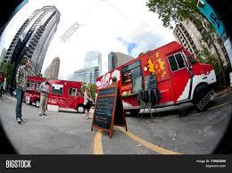 100 Food Trucks Atlanta Fish Eye Perspective Image Photo Free Trial Bigstock