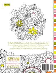 Flower Designs Coloring Book An Adult For Stress 81mdv2guncl Volume Floral Artists Creative Mandalas Tattoo Haven