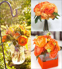Wedding Decorations Orange Rustic Appeal Rental Supplies County