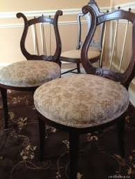 Lyre Back Chairs History by Vintage Lyre Back Telephone Chair Antique Furniture Duncan Phyfe