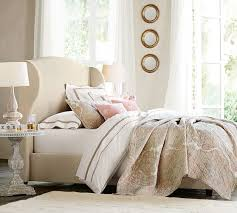 Unique Upholstered Bed And Headboard Raleigh Upholstered Wingback