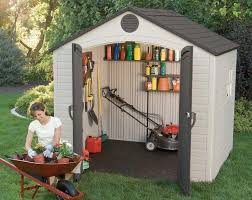 Keter Storage Shed Shelves by Small Outdoor Storage Sheds Quality Plastic Sheds