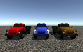 3D Model Industrial Small Truck Pack - I VR / AR / Low-poly ...