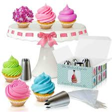 Kit The Perfect By Amazoncom Wilton Decorating Tips For Cupcakes Cupcake Easy