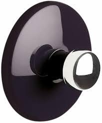 spirella handtuchhaken haken selbstklebend bad und küche bowl handtuchhalter kleiderhaken ohne bohren ø5 cm schwarz