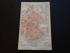 Gdansk Old Map Of