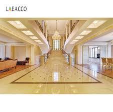 laeacco königlichen luxus wohnzimmer treppe kronleuchter innen fotografie hintergrund foto hintergrund photo foto studio