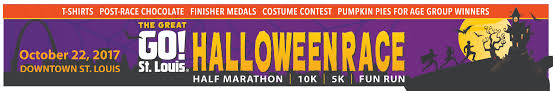 Great Pumpkin 10k 2017 by Register For The 2017 Great Go St Louis Halloween Race Go St
