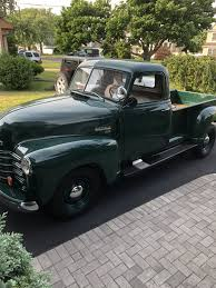 100 1950 Chevy Truck Frame Swap Rims Finished In Forester Green GM 40519 And Mounted This Last