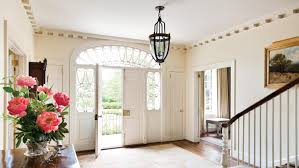 The Intricate Palladian Transom And Leaded Sidelights Of Entry Immediately Speak To Elegance Permeating Entire Interior