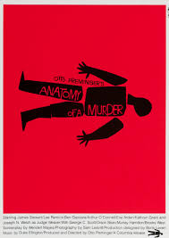 Poster Anatomy Of A Murder