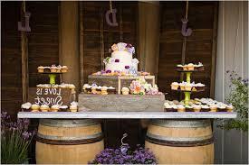 Rustic Wedding Cake Table Ideas