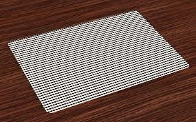 tischdecke waschbare stoff esszimmer küche tischdekorations digitaldruck abakuhaus 4 teilig 4 teilig st set aus 4x minimalismus abstrakte
