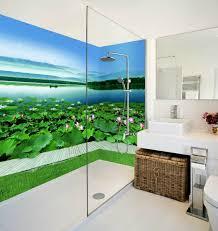 3d fließendes 58 tapete badezimmer drucken abziehbild mauer