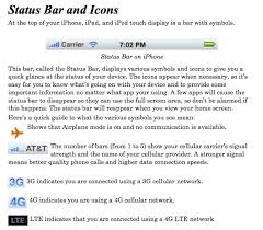 PDF Guide to iPhone and iPad Status Bar Icons