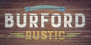 Burford Rustic Font By Kimmy Kirkwood
